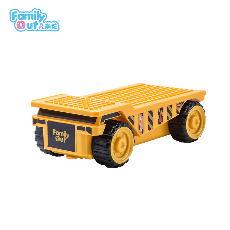 FATWHEELS TRUCK PENCIL BOX (YELLOW)