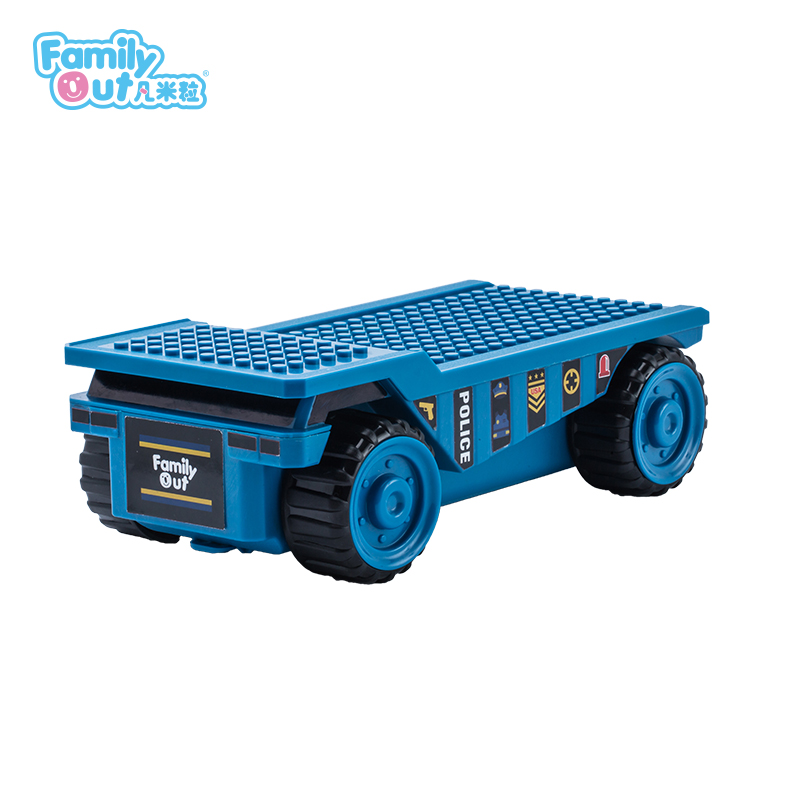 FATWHEELS TRUCK PENCIL BOX (BLUE)