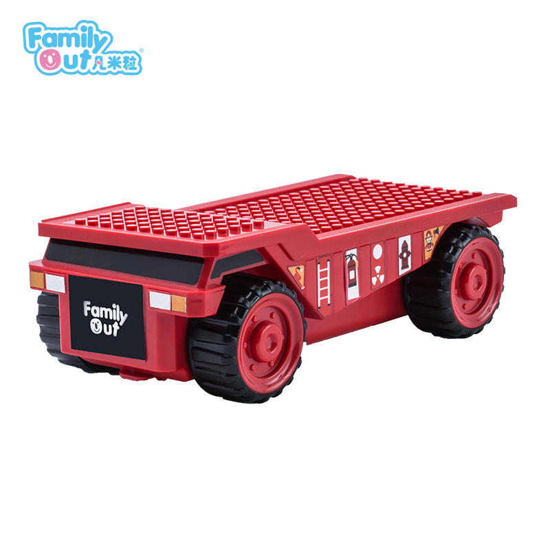 FATWHEELS TRUCK PENCIL BOX (RED)