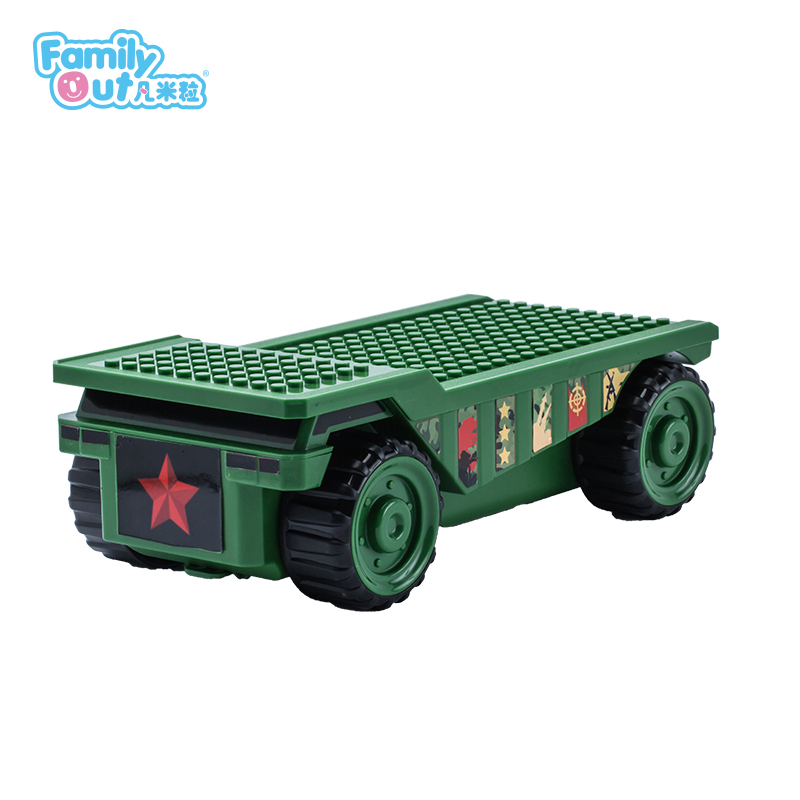 FATWHEELS TRUCK PENCIL BOX (GREEN)