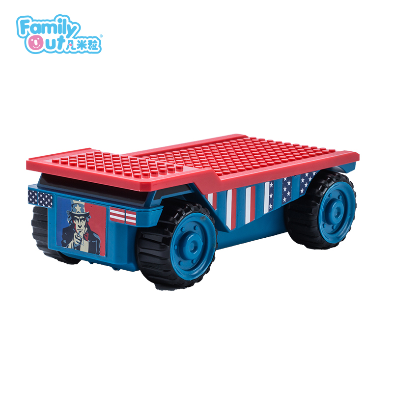 FATWHEELS TRUCK PENCIL BOX (FIRE)